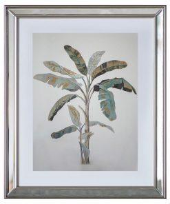 """Banana Palm"" Framed Wall Art Print, Type II, 50cm"
