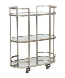 Arden Iron & Mirror Drinks Trolley